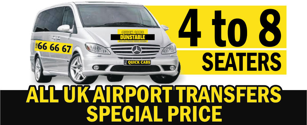 Quick Cabs Dunstable - Call 01582 666667